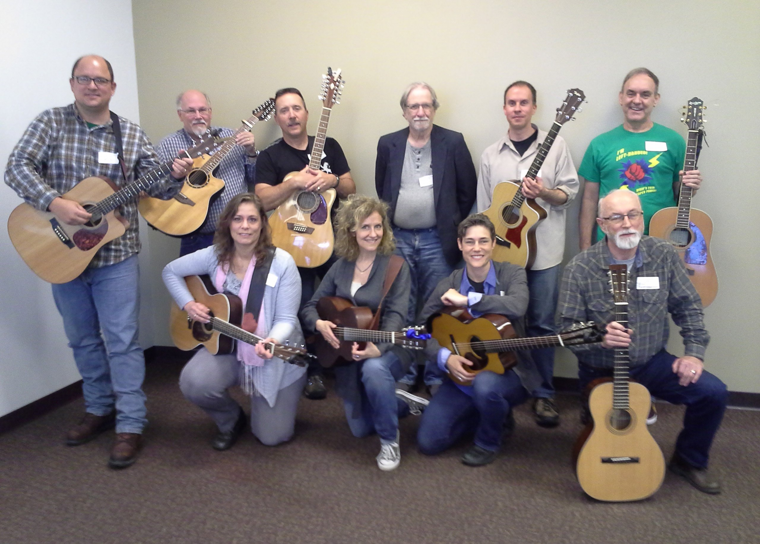 Sally Barris Guitar Workshop 2017 - 2