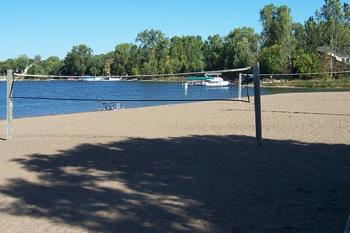 Antlers Park - beach and volleyball