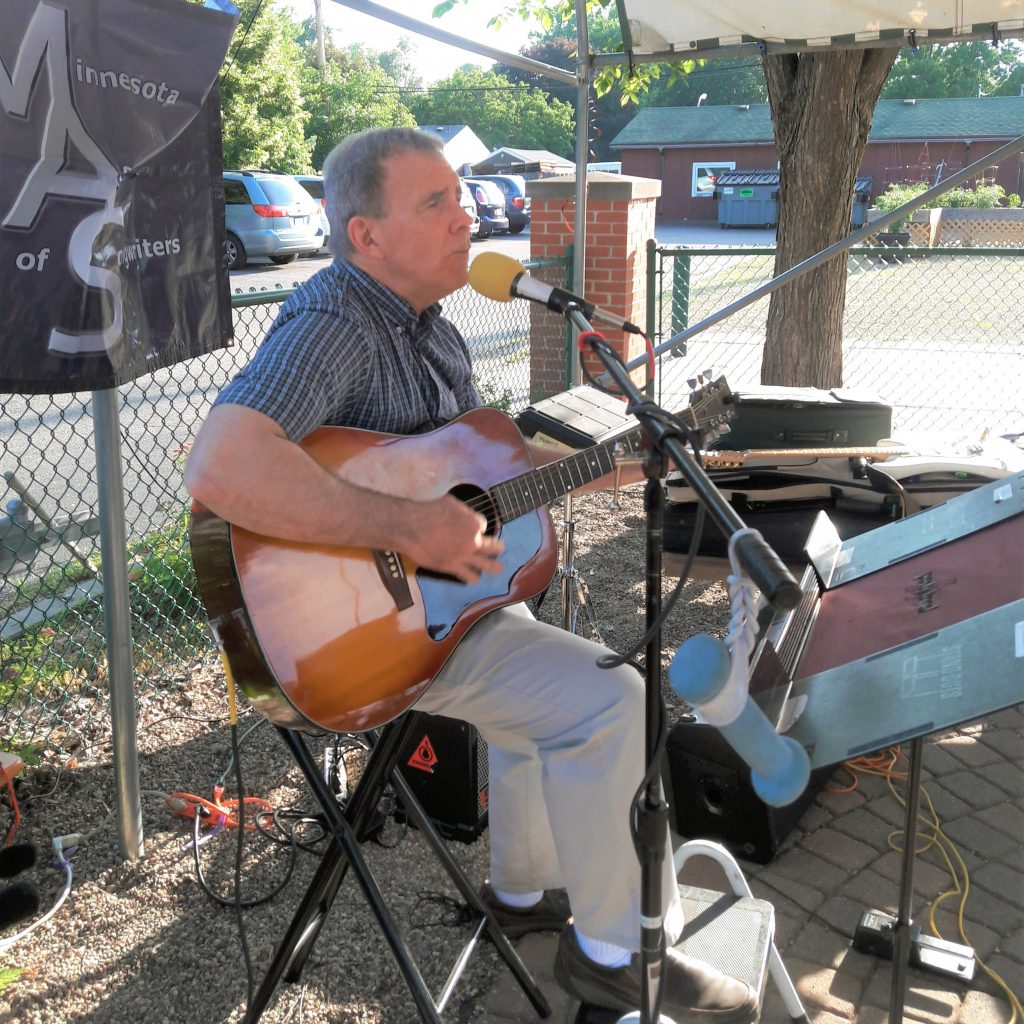 Paul Vance performs at the MAS Showcase, June 28, 2019